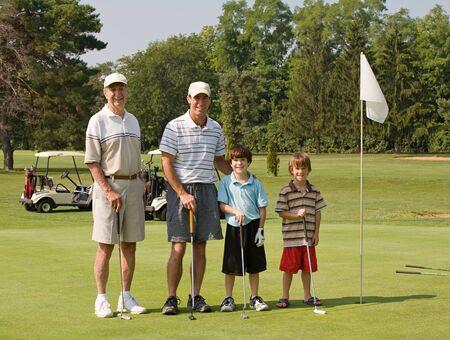 가족 놀이 골프