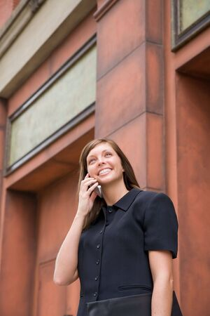Young Business Woman Stock Photo - 3563385