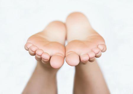 Bare Feet Standard-Bild - 3635295