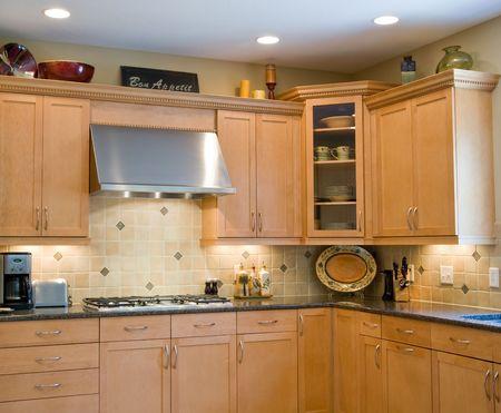 Modern Kitchen Stock Photo - 3627780