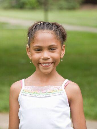 Little Girl Smiling Stock Photo - 3678899