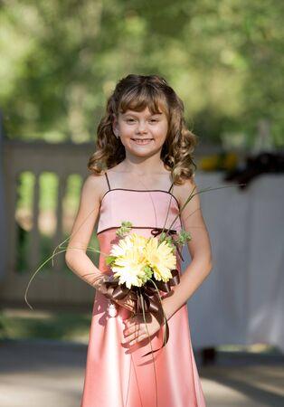 Flower Girl Standard-Bild - 3746892