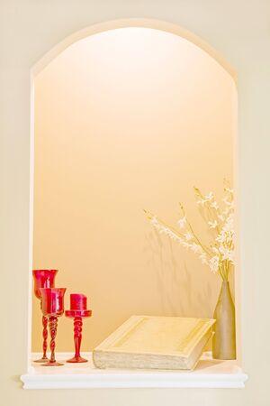 window display: Interior Window Display