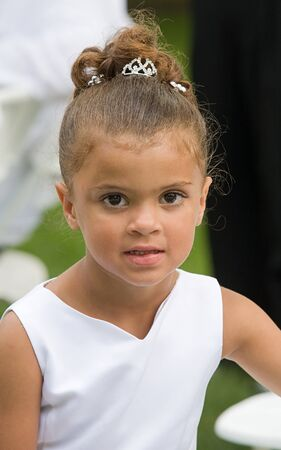 Beautiful Little Flower Girl