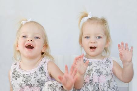 Twins Spaß Standard-Bild - 4408982