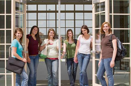 College Girls Stock Photo - 4838654