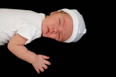 Newborn baby Sleeping Stock Photo - 7011620