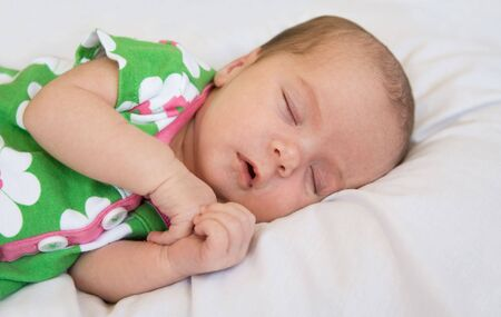Newborn baby Sleeping photo