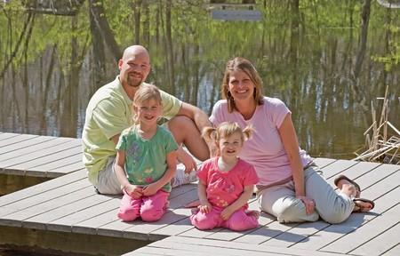 Family at the Lake photo