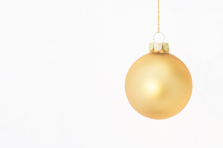 Christmas Ornament on White Background