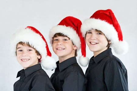 Three Brothers at Christmas photo