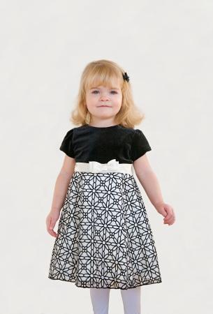 Kleines Mädchen in der Weihnachts Standard-Bild - 23246183