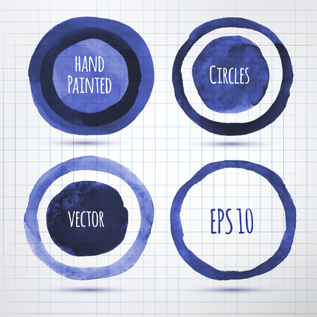 inky: Hand drawn inky vector banners.