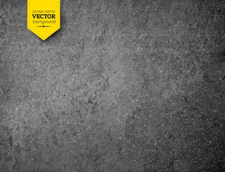 Vector Grunge Asphalt Textur Hintergrund.