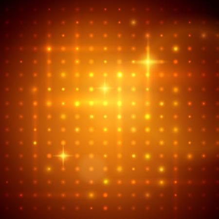ゴールデン ディスコ ライトのベクター イラストです。