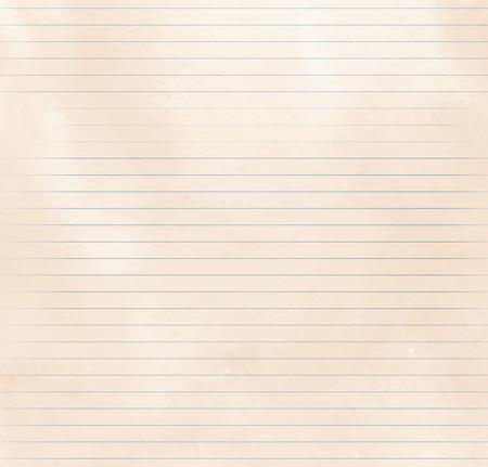 Oude vintage gelinieerd papier textuur. Stockfoto - 38329890