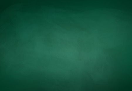 chalk board: Green school board vector background.