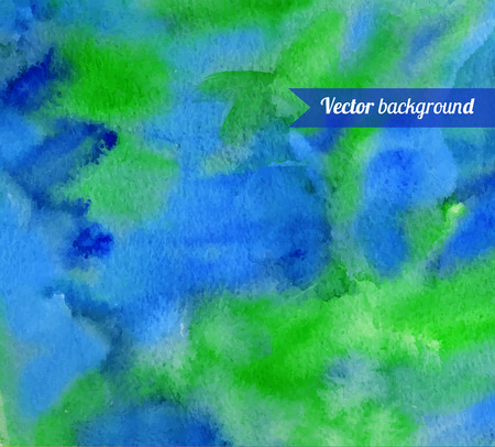 smudges: Hand painted watercolor background with smudges.