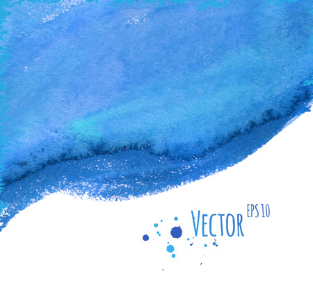 smudges: Vector abstract background with watercolor smudges. Illustration