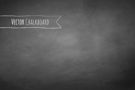 Grey chalkboard vector grunge background.