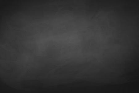 Zwarte grunge krijtbord vector achtergrond. Stock Illustratie
