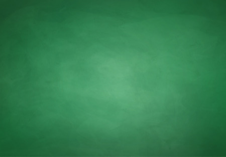 Green grunge chalkboard vector background.
