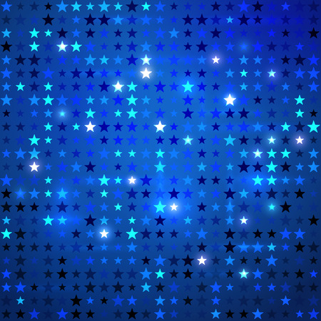 sparkle background: Vector abstract background with stars.