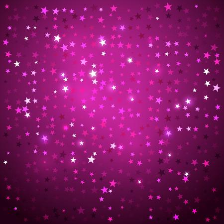 Resumen de vectores de fondo de estrellas. Vectores