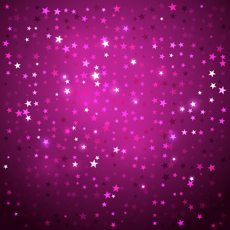glowing star: Vector abstract background with stars.