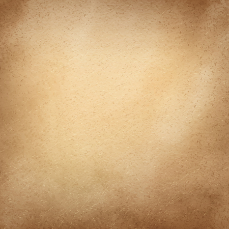 brown background texture: Grunge vintage old yellow paper vector background. Illustration