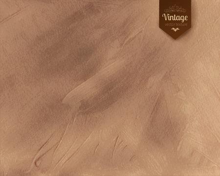 Vintage paint daubs texture background. Vectores