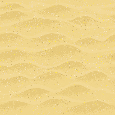 seamless pattern with beach sand. Ilustrace