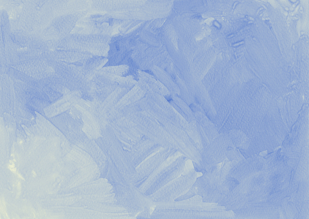 painted background: Hand painted gouache blue grunge texture background.