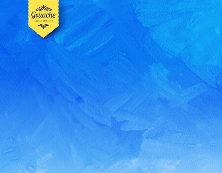 Gouache blue texture Illustration