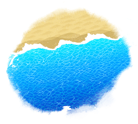 Hand painted watercolor stain background