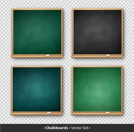 Vector illustration of square chalkboard Фото со стока - 123051092