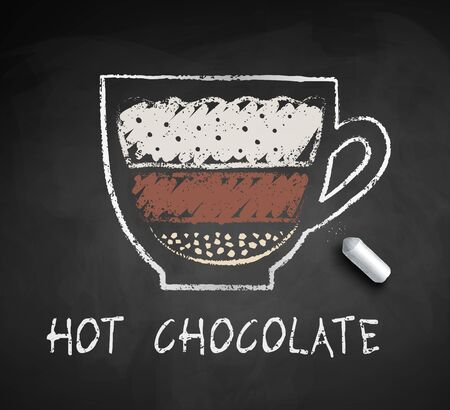 Vector sketch of Hot Chocolate