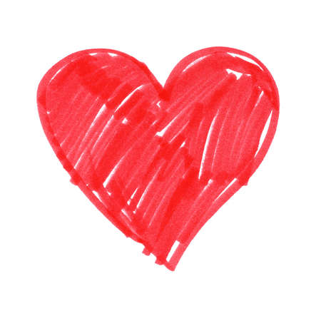 Child drawing of Heart