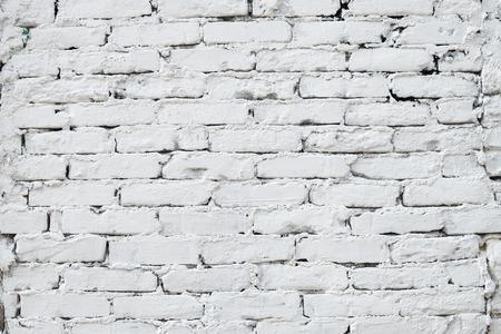 mishmash: White brick wall texture  background