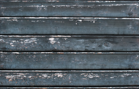 crannied: Old rustic painted cracky dark wooden texture or background Stock Photo