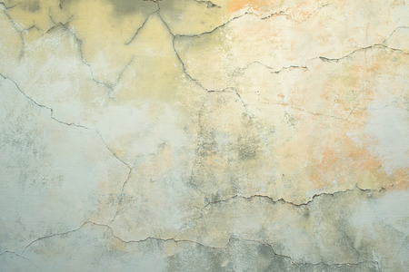 painted wall: Old discoloured painted wall texture Stock Photo