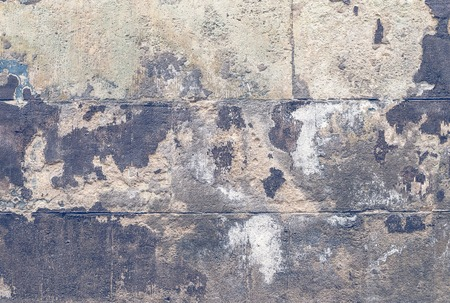 concrete blocks: Old grey stone grunge wall background or texture Stock Photo