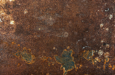 pitting: Old shabby rusty metal texture, background and wallpaper