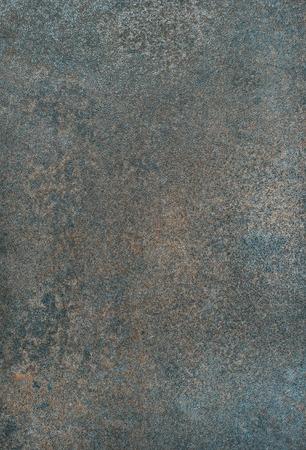 구리 컬러 자연적인 돌 질감, 벽지 및 배경. 철광석과 석재 형성