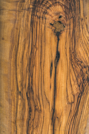 Old olive wood slab texture and background