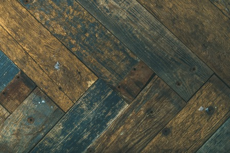 Reclaimes rustic wooden barn door, wall or table texture, background and wall, horizontal composition Stock Photo
