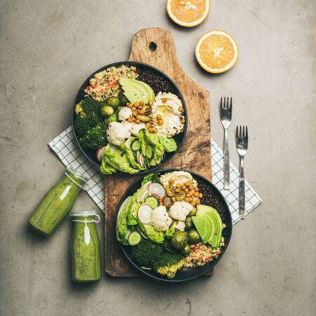 Cena sana, impostazione pranzo. Archivio Fotografico