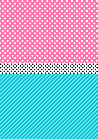 Cute pattern background in lol doll surprise style. vector illustration. Vector Illustration