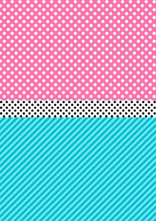 Netter Musterhintergrund im Lol-Puppenüberraschungsstil. Vektor-Illustration. Vektorgrafik