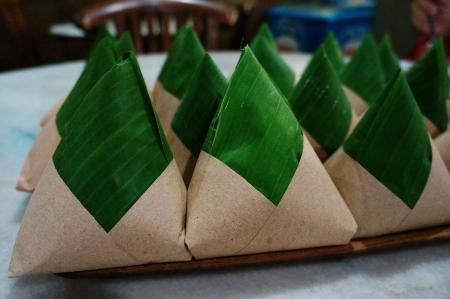 delicious nasi lemak packaging photo